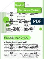 Reaksi-reaksi Senyawa Karbon