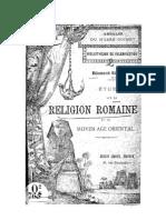 Religion Romaine Et Le Moyen Age Oriental
