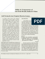 Labor Market Flexibility & Trajectories of Development