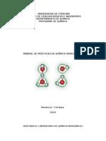 Guías de Laboratorio de Química Inorgánica I. MODIFICADO 2010.doc