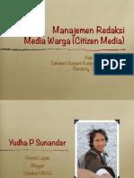 Manajemen 20redaksi 20media 20warga 131103111524 Phpapp01