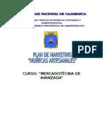 Plan de Marketing de Muñecas artesanales en la Región de Cajamarca
