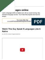 Language Chameleon