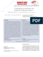 6. Déficit de Memoria en Pacientes Con Enfermedad de Parkinson Inicial