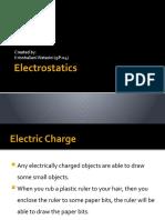 Electrostatics JHS