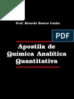 Apostila Quimica Analitica Quntitativa