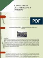 Tecnologías Para Transporte Terrestre y Marítimo