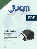 Taiko Series Bill Acceptor PUB-7-11.Sflb