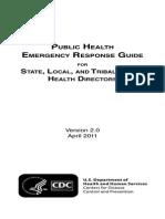 Public Health Medical Emergency