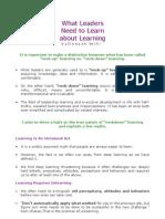 Leaders&Learning