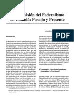 Una Revision Del Federalismo Canadiense (1)