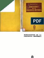 Aron, Raymond - Dimensiones de la conciencia historica.pdf