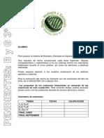Cuadernillo Pendientes 3 ESO Biologia Importante