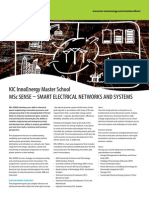 MSc Smart Electrical Networks (Smart Grid)
