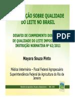 Legislacao Sobre Qualidade Do Leite No Brasil Mayara Souza Pinto