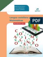 Catalogo Pruebas de Acceso a CF GS 2014