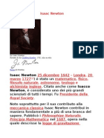 Isaac Newton s.
