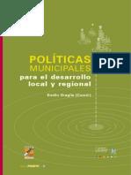 Polticas Municipales Para El Desarrollo Local y Regional - Emilio Graglia