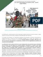 El Miedo y El Terror Como Instrumentos de Sumisión Social - José R