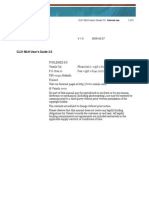 CL31 MLH User's Guide 3.0 Standard