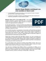 Bud Light y Fundación Grupo Modelo contribuyen con proyectos sociales en Nuevo León