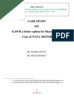 Financial Market Efficienecy Case Study