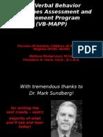 VB-MAPP Presentation 2009-02-07
