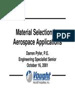 07 Seleccion de Materiales Aeronauticos