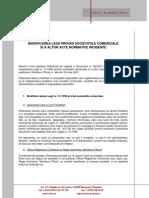 Comentariu Legislativ - Legea Societatilor Comerciale