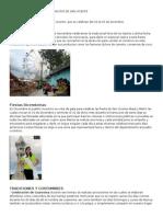 Cultura y Costumbres Del Municipi