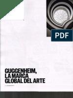 Guggenheim, La Marca Global Del Arte. El Pais Semanal Nº1996-28.12.2014