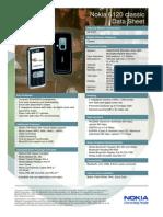 Nokia 6120 Classic Datasheet