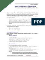 Service oriented architecture for e-governance
