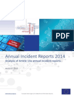 Annual Incident Reports 2014