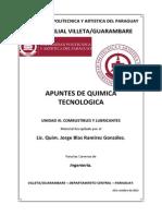Apuntes - Unidad III Combustibles y Lubricantes- Quimica Tecnologica