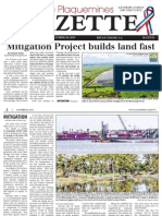 Jesuit Bend Mitigation Bank -- Plaquemines Parish Gazette Article
