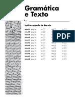 Gramática e Texto - Atividades Com Gabarito