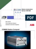 COM 600 - Overview