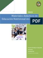 Mat Didcaticos Ed. Nutricional Junio2015