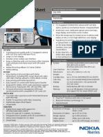 Nokia N73 Datasheet