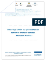 Tehnologia Aplicatiilor Office - Access