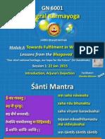 Bhagawadgita Session 1
