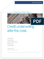 21 Credit Underwriting After the Crisis