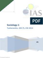Socio 1 Tusharanshu