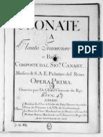 Cannabich 6 Fl Sonatas Op1