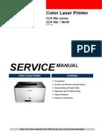 Svc Manual Clp-36x Sansung