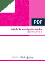 Guia de Orientacion Modulo de Investigacion Juridica Saber Pro 2015 2