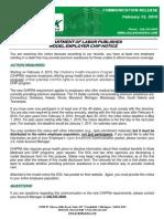 DOL Published CHIP Notice