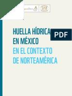 AgroDer, 2012. Huella Hídrica en México