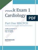 Cardiology Mock Exam 1